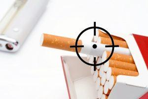 コンビニタバコ売上割合タバコ分析