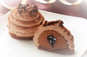 コンビニバレンタインコンビニバレンタインスイーツウチカフェチョコボンブケーキ