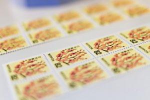 コンビニ切手種類