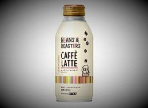 コーヒーペットボトル新商品ビーンズ&ロースターズカフェラテ