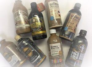 コーヒーペットボトル新商品種類